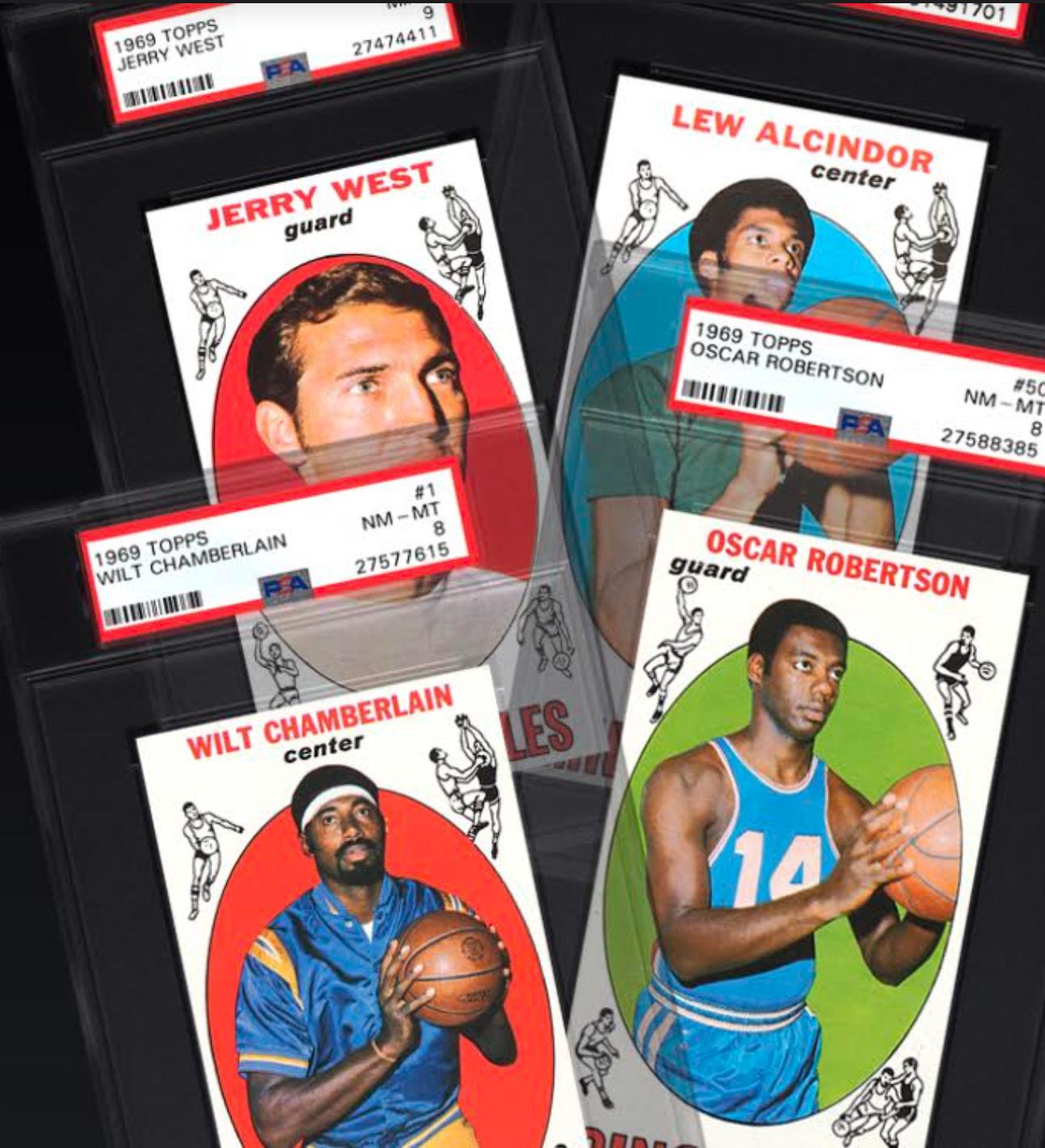 1969 Topps Basketball Complete Set (8.995 GPA)