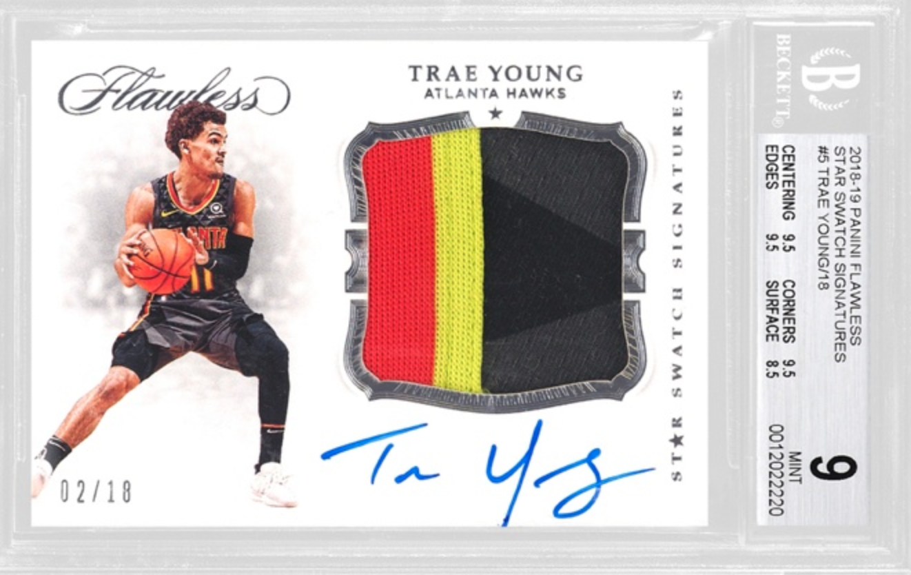 2018 Panini Trae Young RPA (BGS 9)
