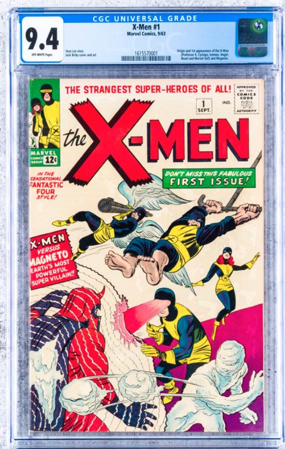 1963 Marvel X-Men #1