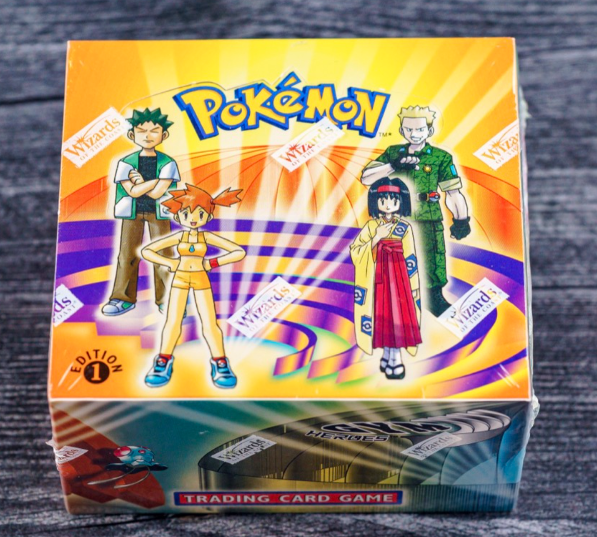 2000 Pokémon Gym Heroes Booster Box (1st Ed.)