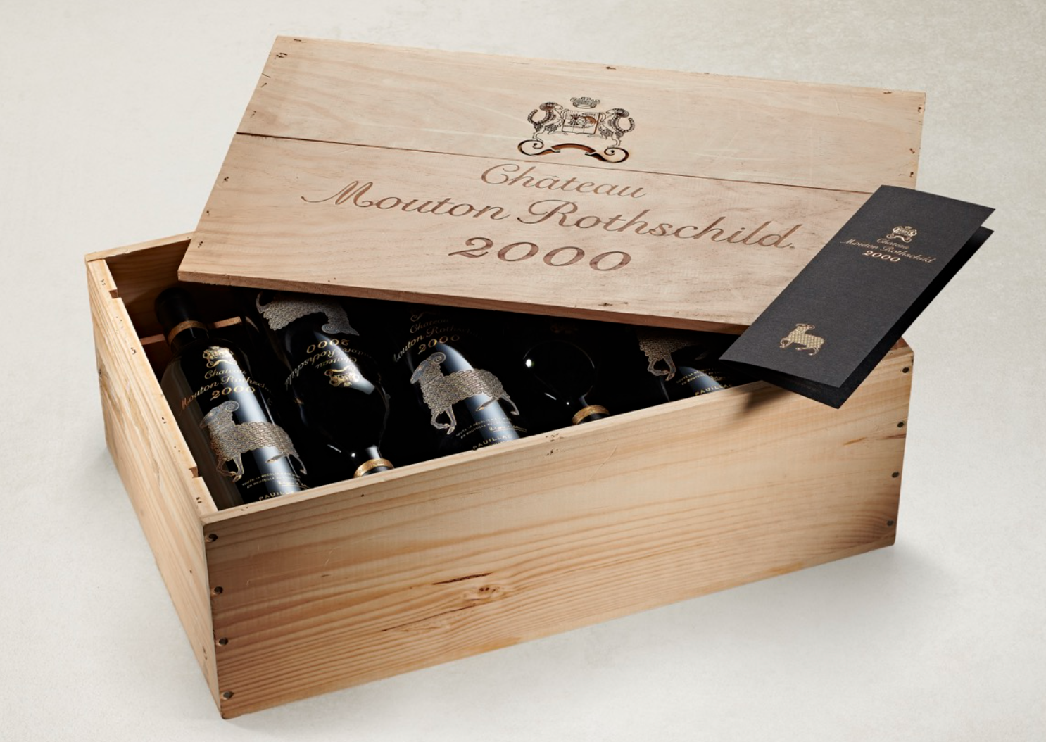 2000 Château Mouton Rothschild (12 bottles)
