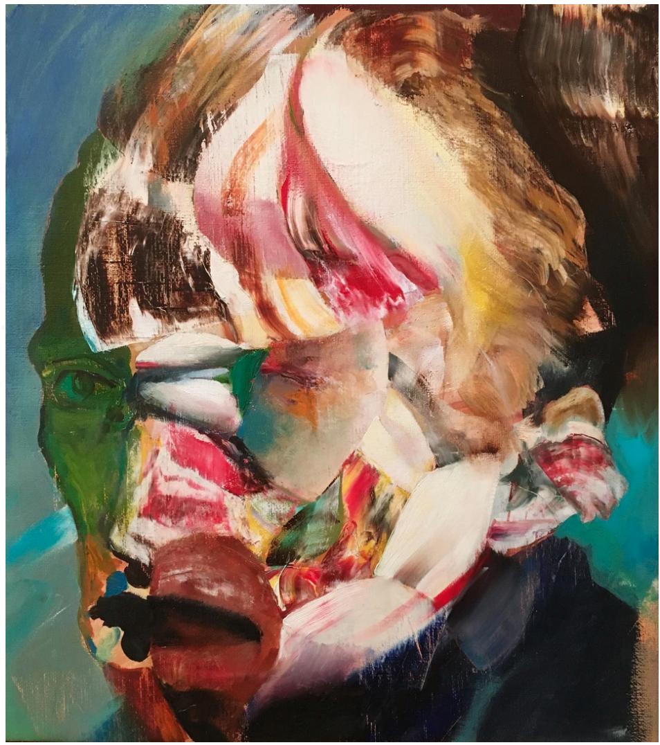 Lidless Eyes by Adrian Ghenie (2016)