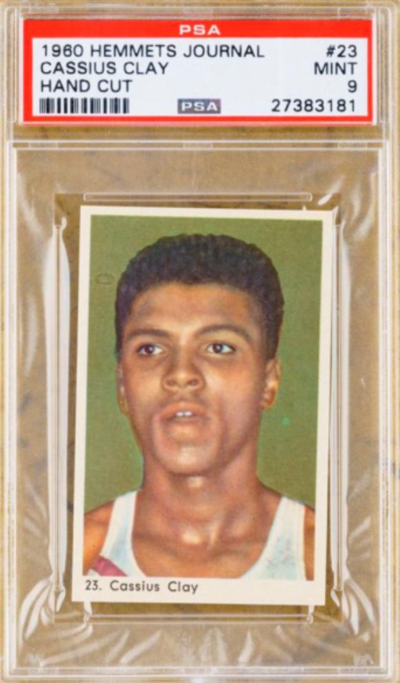 1960 Muhammad Ali Rookie Card (PSA 9)