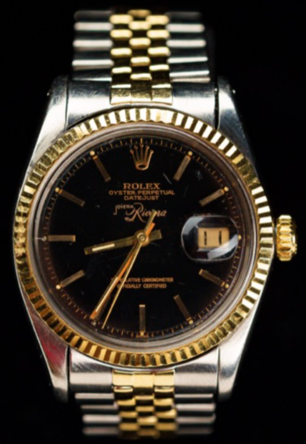 1965 Rolex 1601 Datejust (Joyeria Riviera)
