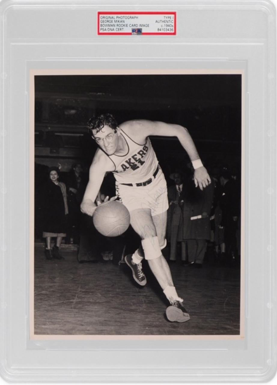 1948 Bowman George Mikan Bowman Original Photo