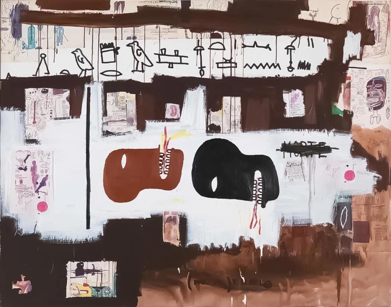 Dark Milk by Jean-Michel Basquiat