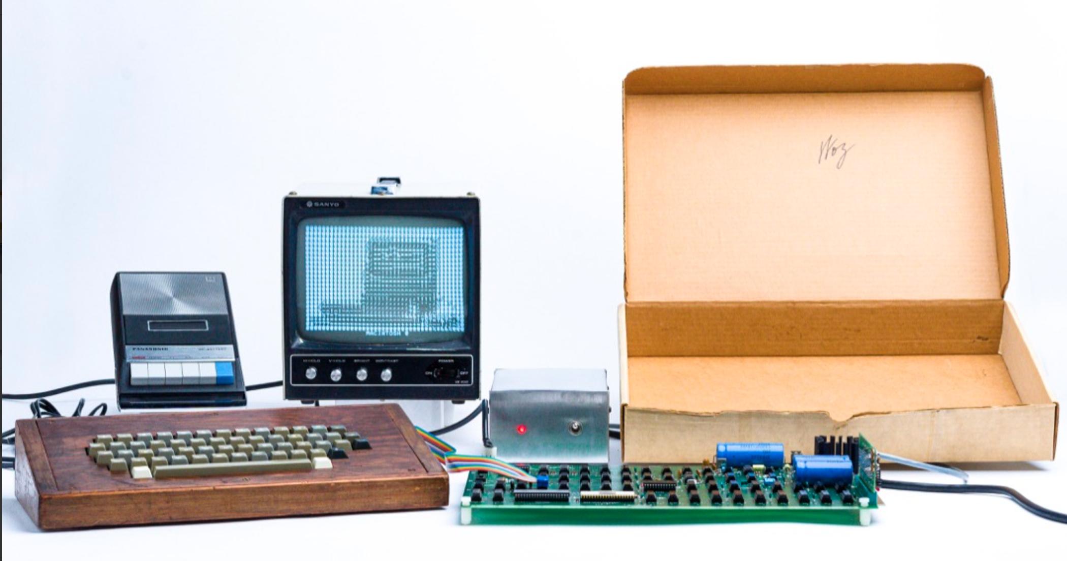 1976 Apple I Computer