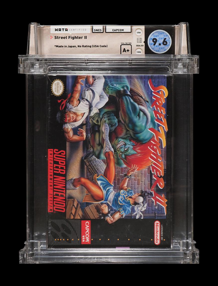 Street Fighter Collection: SF II (WATA 9.6), Super II (WATA 9.4), Alpha I (WATA 9.2)