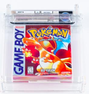 1998 Game Boy Pokémon Red (WATA 9.2 A++ Sealed)