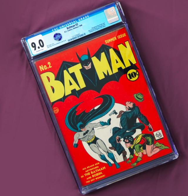 1940 DC Comics Batman #2