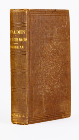 Henry David Thoreau: Walden (1st Ed.)