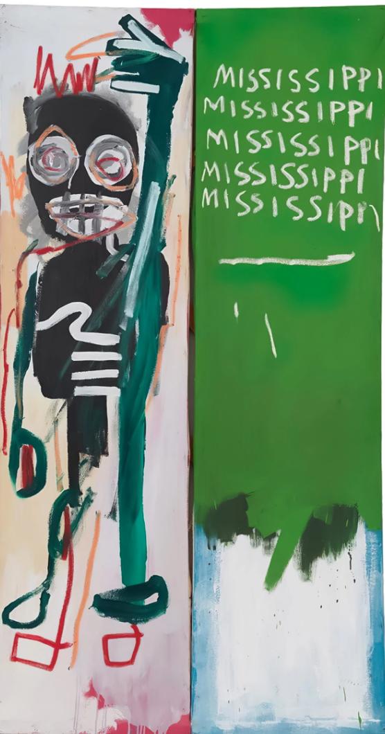 Mississippi (1982) by Jean-Michel Basquiat