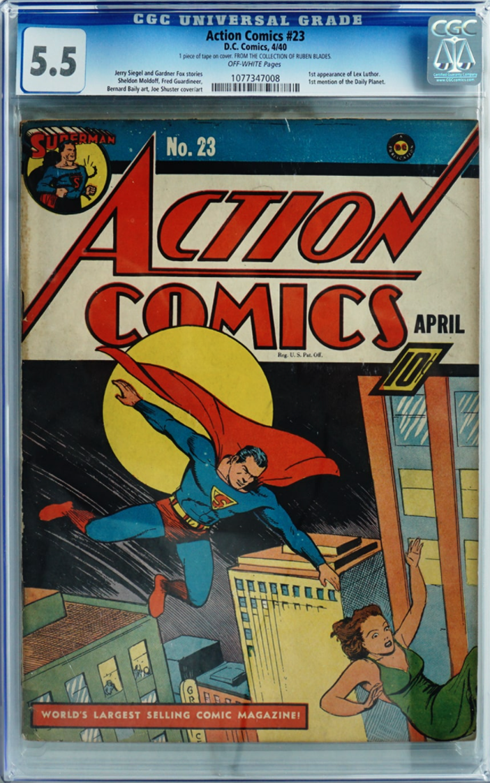 1940 Action Comics #23 (1st Appearance of Lex Luther)