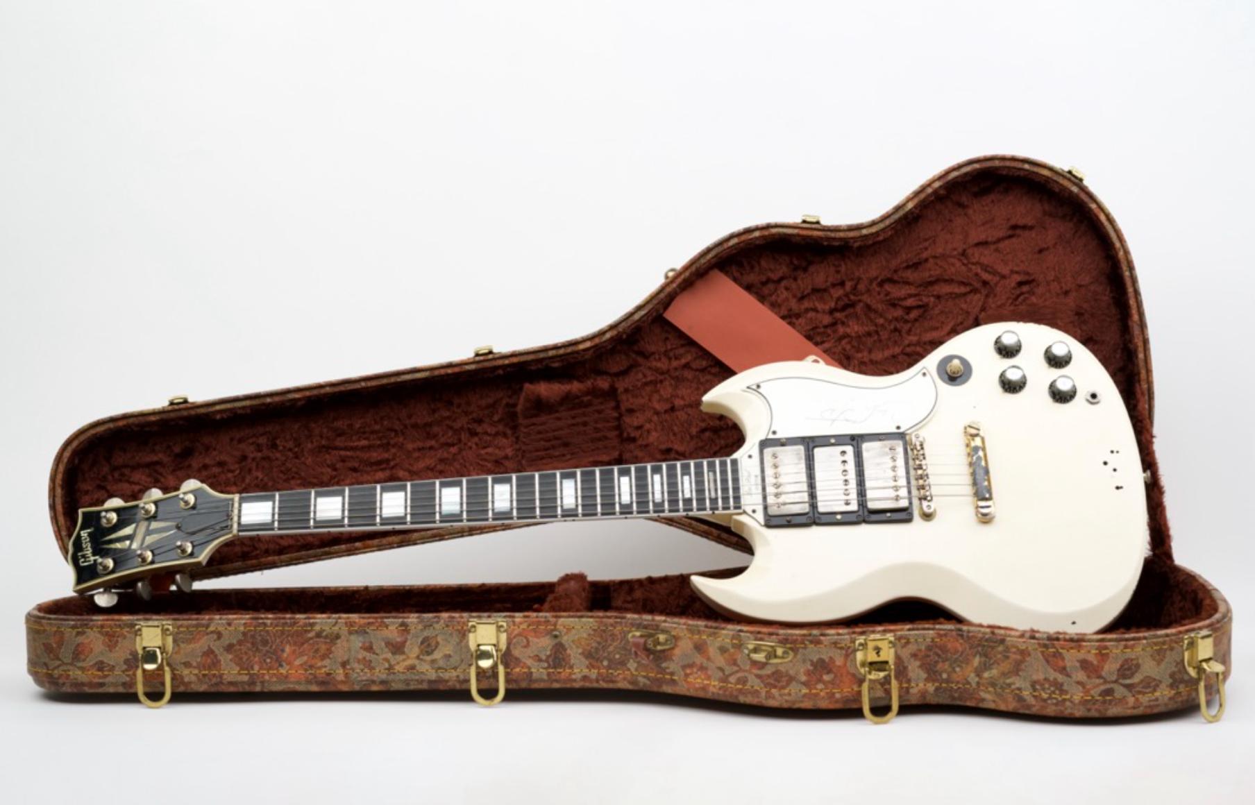 Carlos Santana Gibson SG Guitar (Signed)