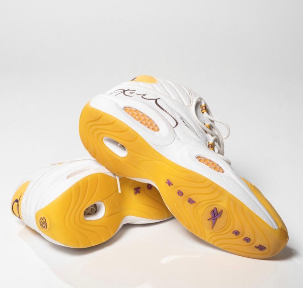 Kobe Bryant Game-Worn & Signed Sneakers