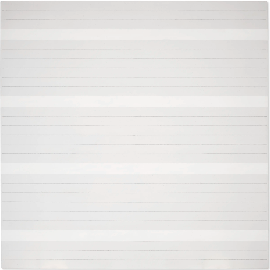 Untitled #12 by Agnes Martin