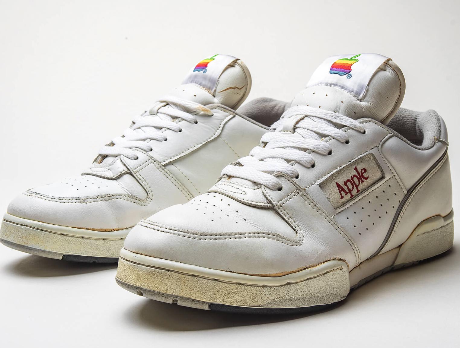 1990s Apple Sneakers