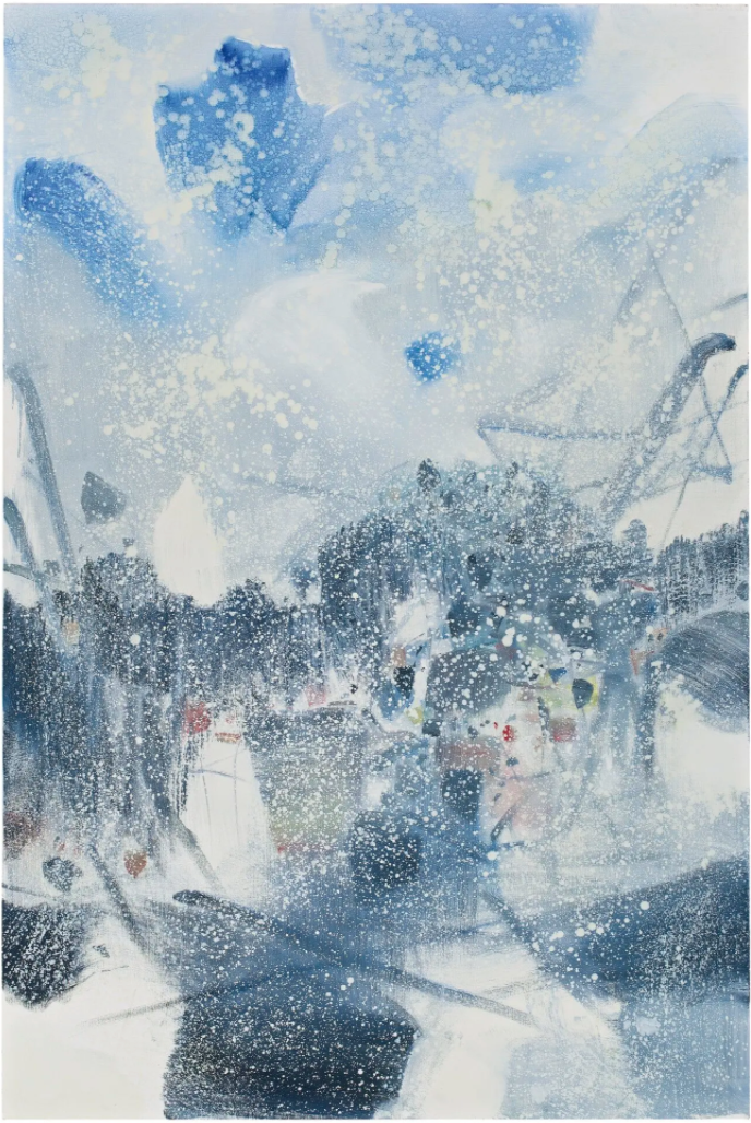 Printemps Hivernal by Chu Teh-Chun
