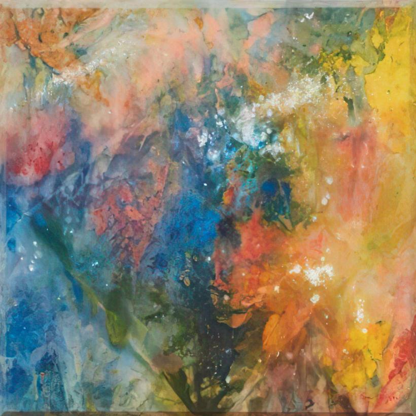 Reaching (1972) by Sam Gilliam