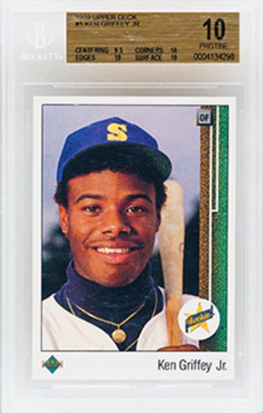 1989 UD Ken Griffey Jr. Rookie Card (BGS 10)