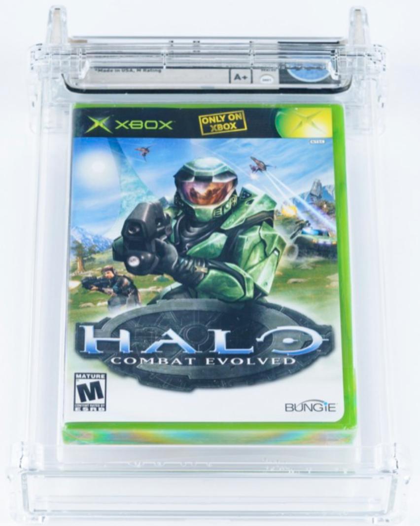 2001 Xbox Halo: Combat Evolved (Black Label) (WATA 9.4 Seal A+)