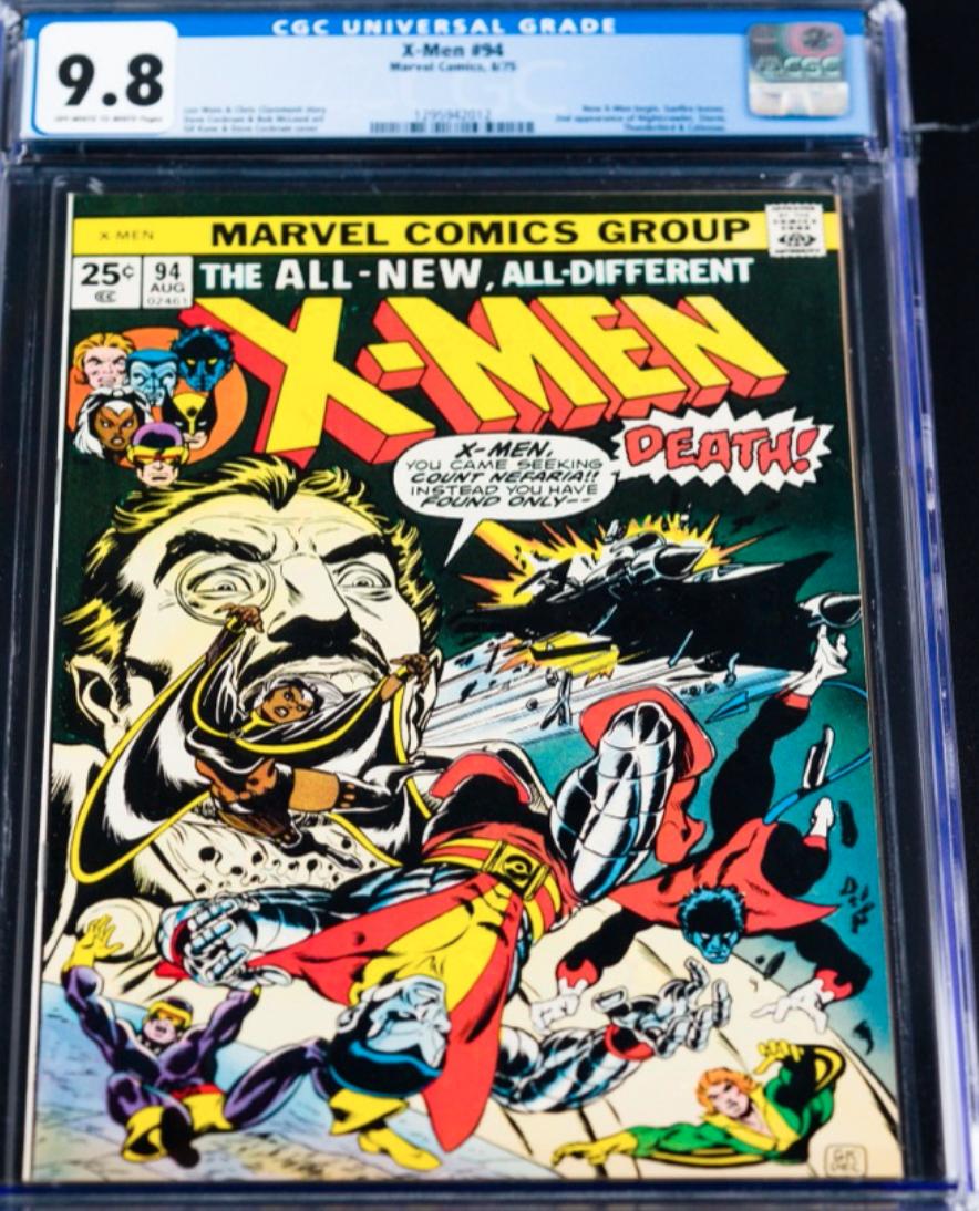 1975 Marvel X-Men #94 (CGC 9.8)