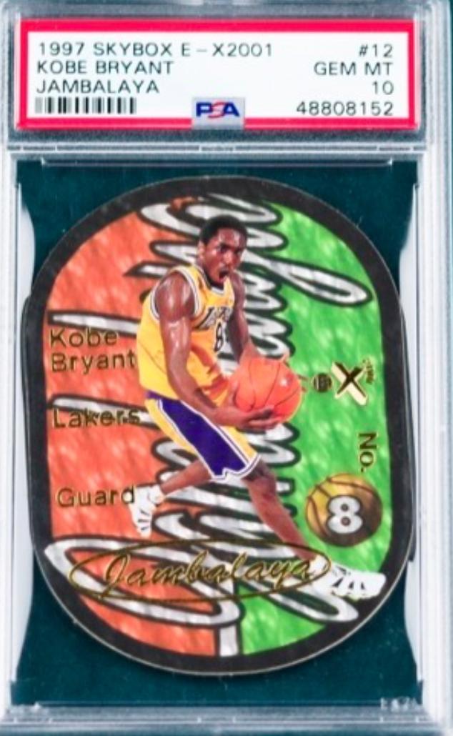 1997 Skybox Jambalaya Kobe Bryant Card (PSA 10)