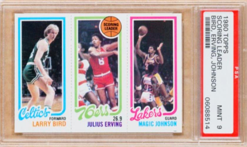 1980 Topps Scoring Leaders Card (PSA 9)