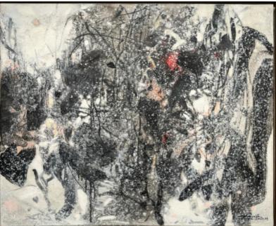 Atmosphère Hivernale by Chu Teh-Chun (1989)