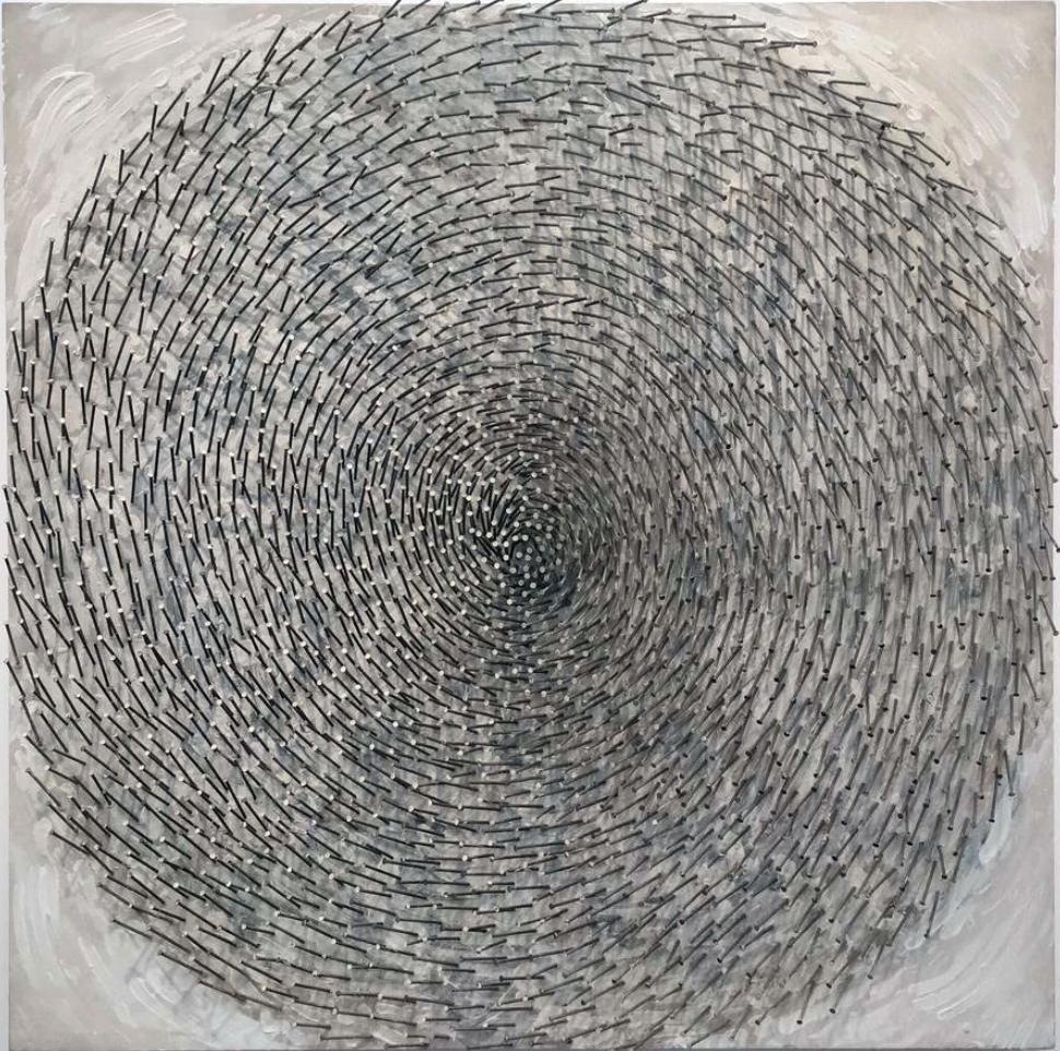 Spirale by Günther Uecker (1980)