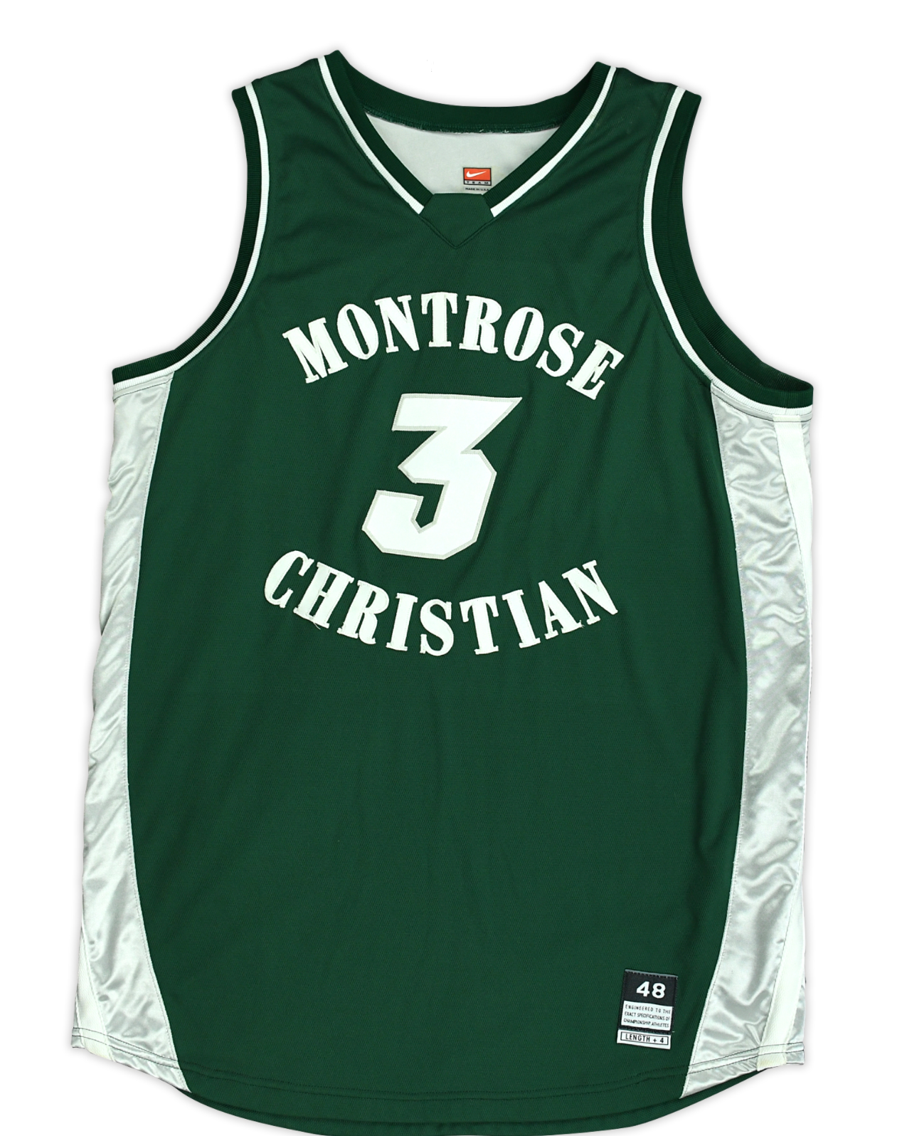 2005-06 Kevin Durant Montrose Christian High School Jersey