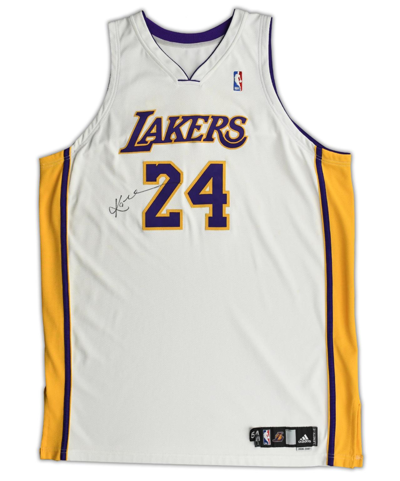 2006-07 Kobe Bryant Debut White #24 Jersey