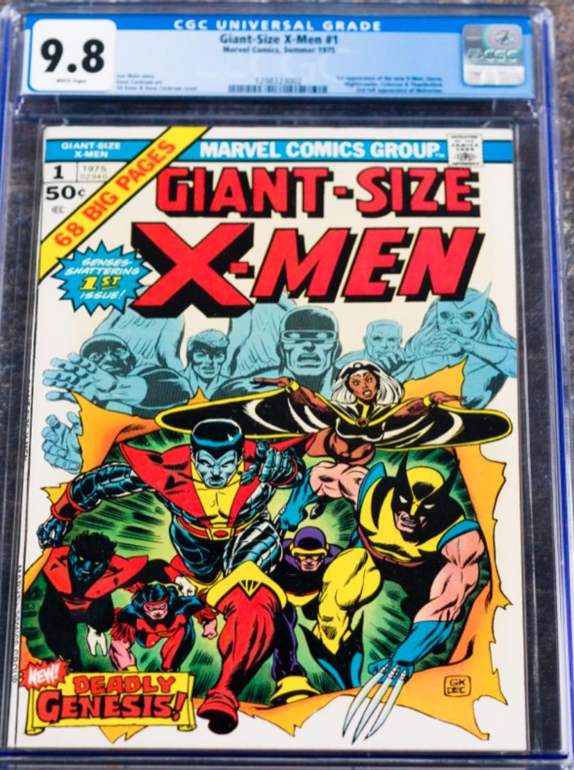 1975 Marvel Giant-Size X-Men #1 (CGC 9.8)
