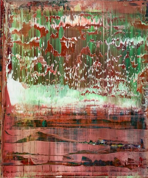 Abstraktes Bild by Gerhard Richter (2009)