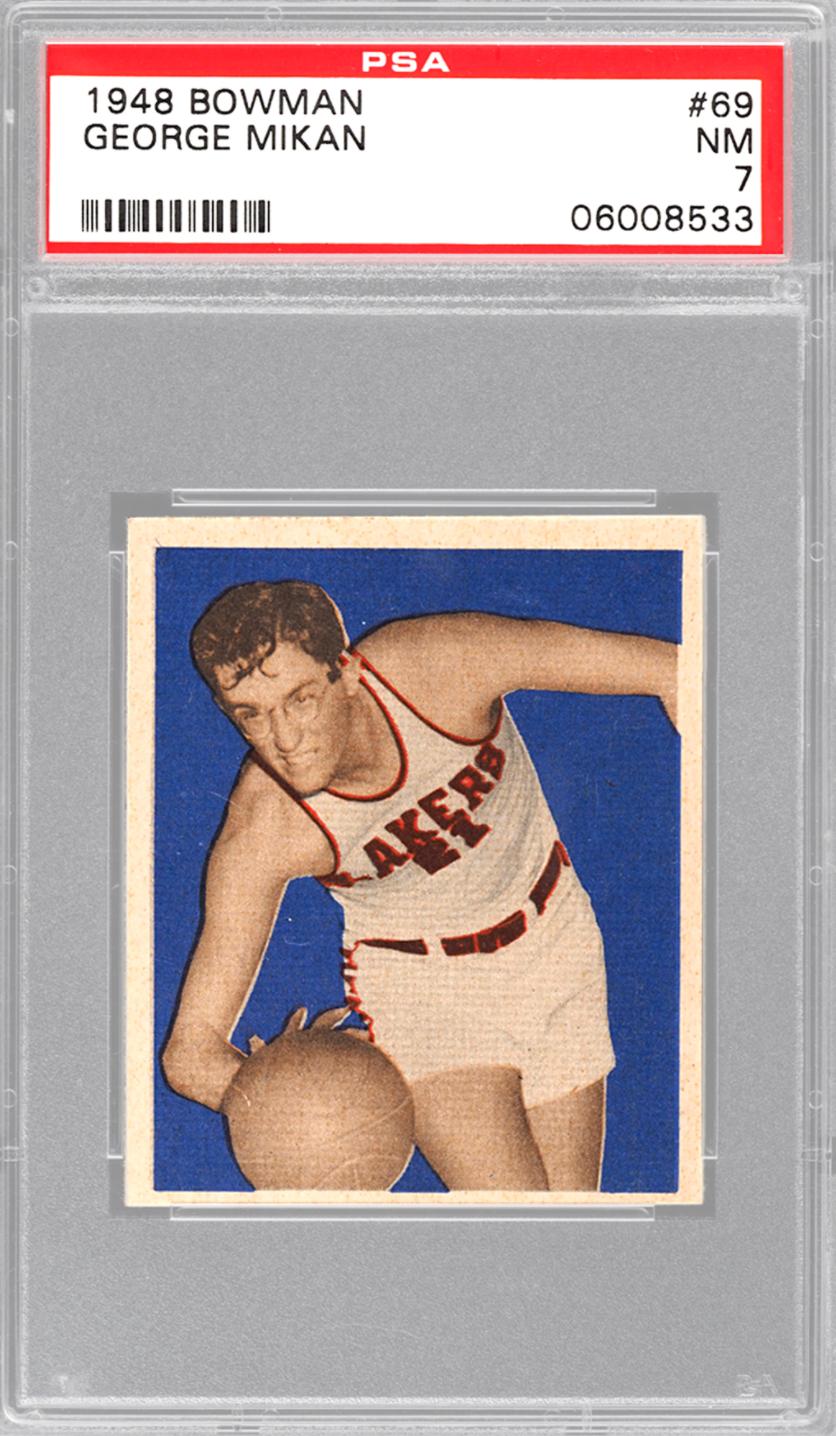 1948 Bowman George Mikan (PSA 7)