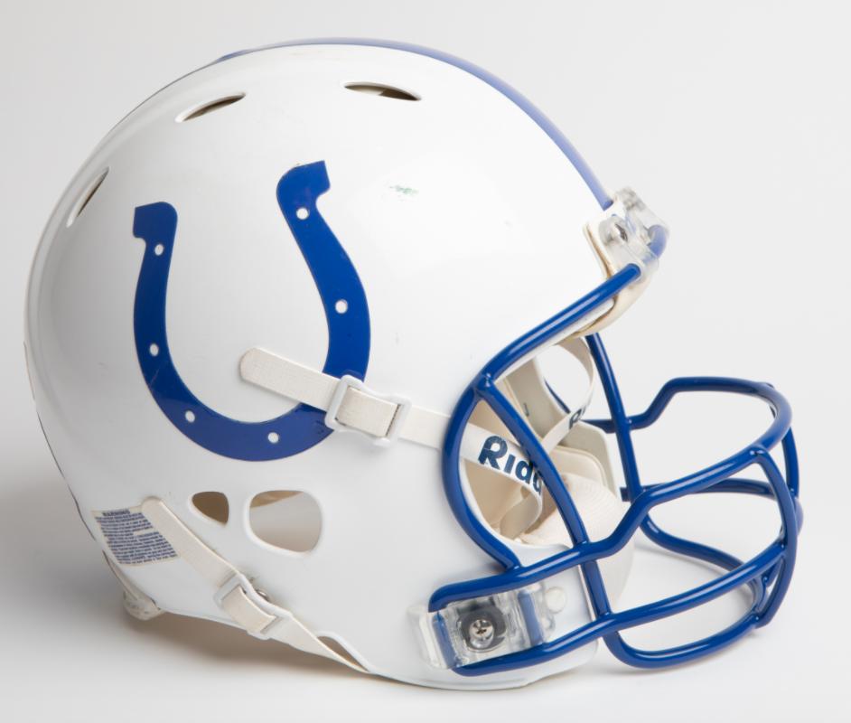 2003-04 Peyton Manning MVP Season Game-Worn Helmet