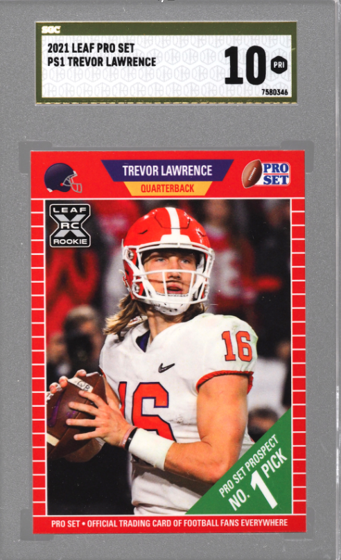 2021 Leaf Pro Trevor Lawrence Basket 20x (SGC 10)