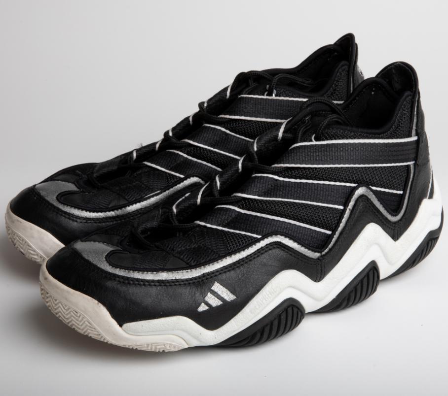 1996 Kobe Bryant Rookie Game Worn & Signed Sneakers