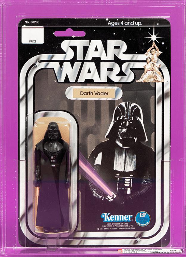 1978 Star Wars Darth Vader Action Figure (AFA 85)