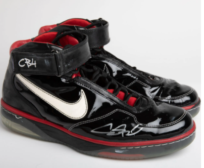 2006-07 Chris Bosh Air Force 25 Game Worn & Signed Sneakers