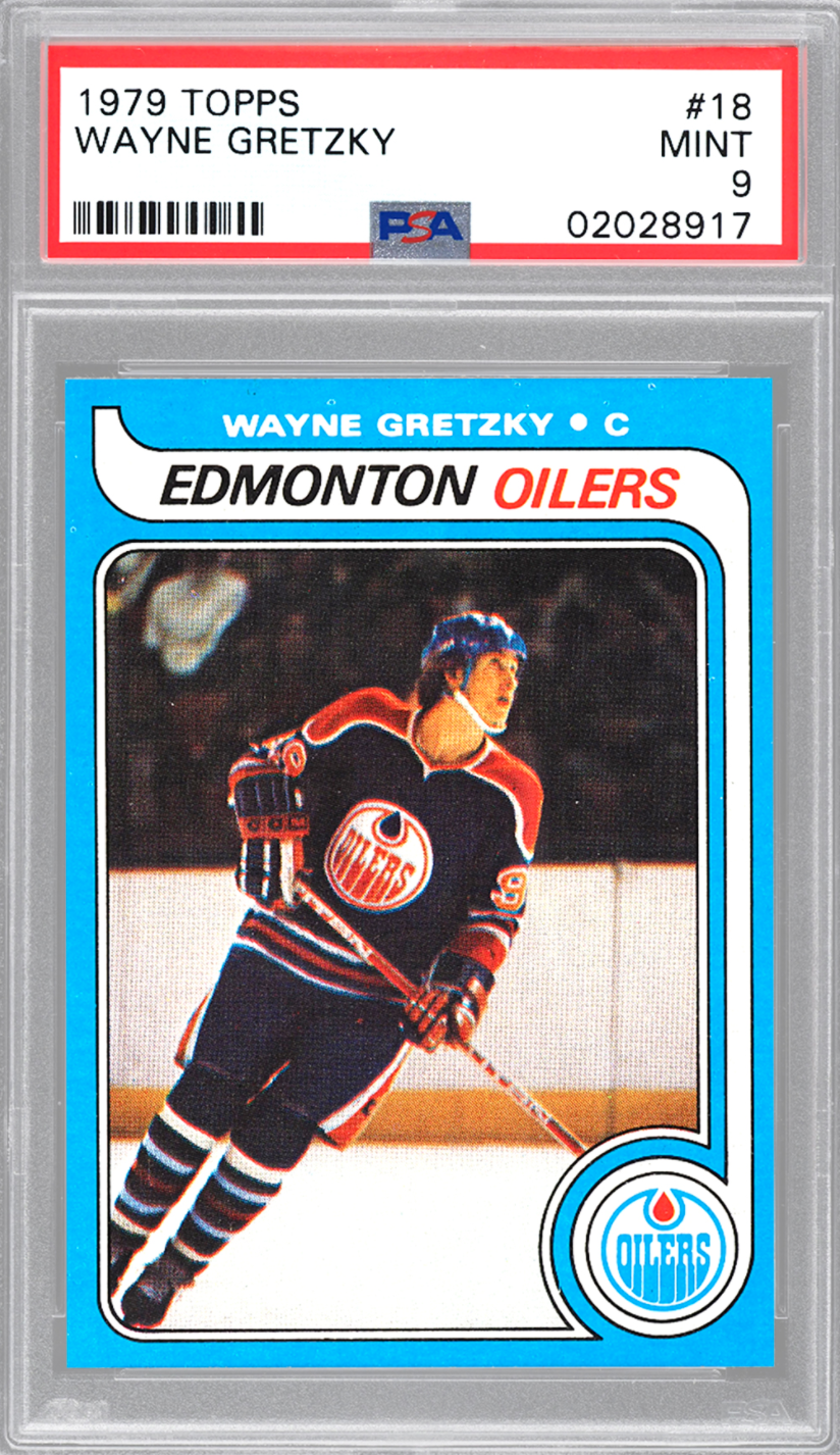 1979 Topps Wayne Gretzky Rookie Card (PSA 9)