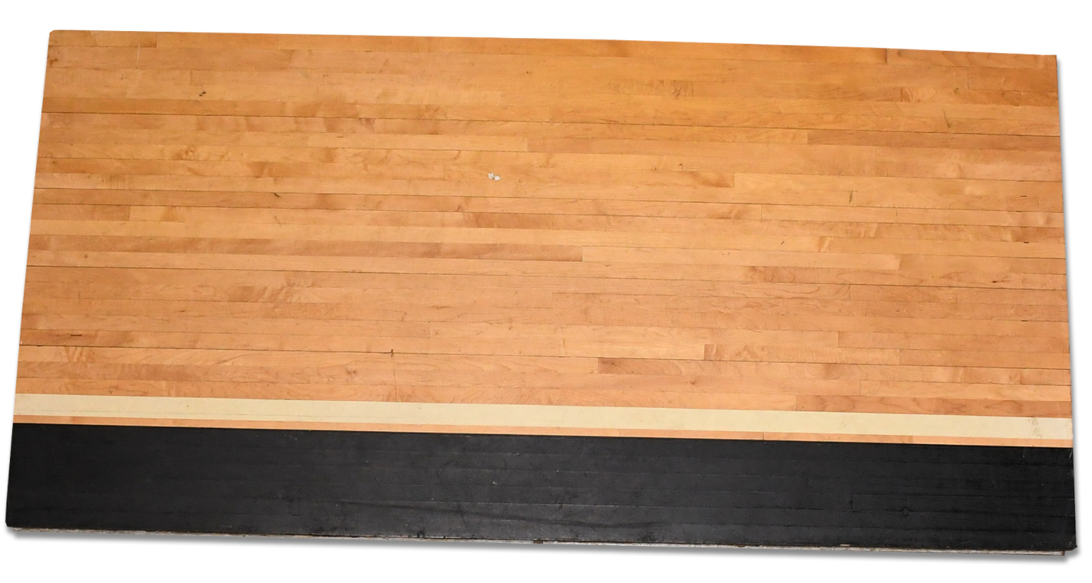 1995-98 Bulls Bench Hardwood Floor