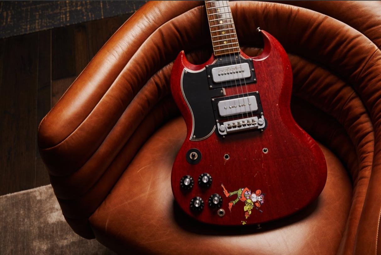Gibson's Tony Iommi 'Monkey' SG Replica Guitar (Prototype)
