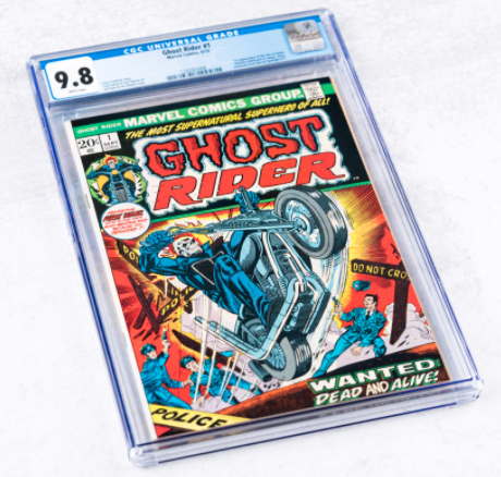 1973 Marvel Ghost Rider #1 (CGC 9.8)