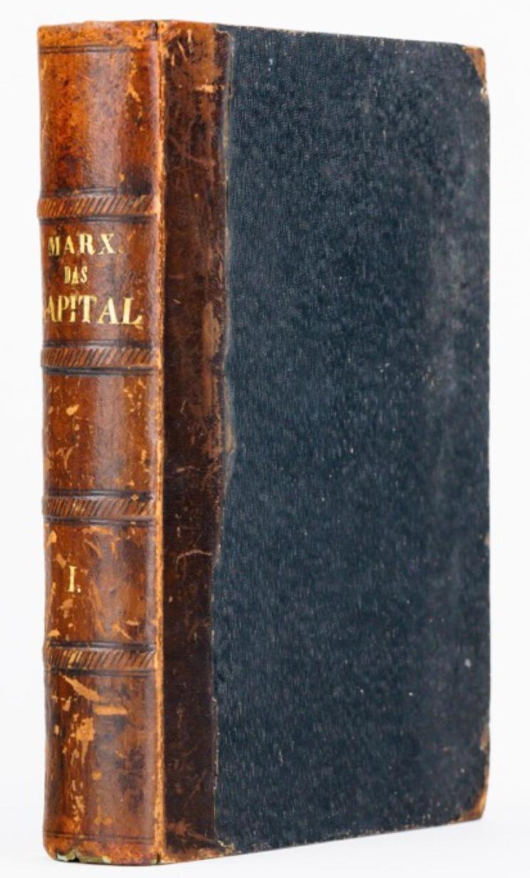 Karl Marx: Das Kapital (1st Edition)