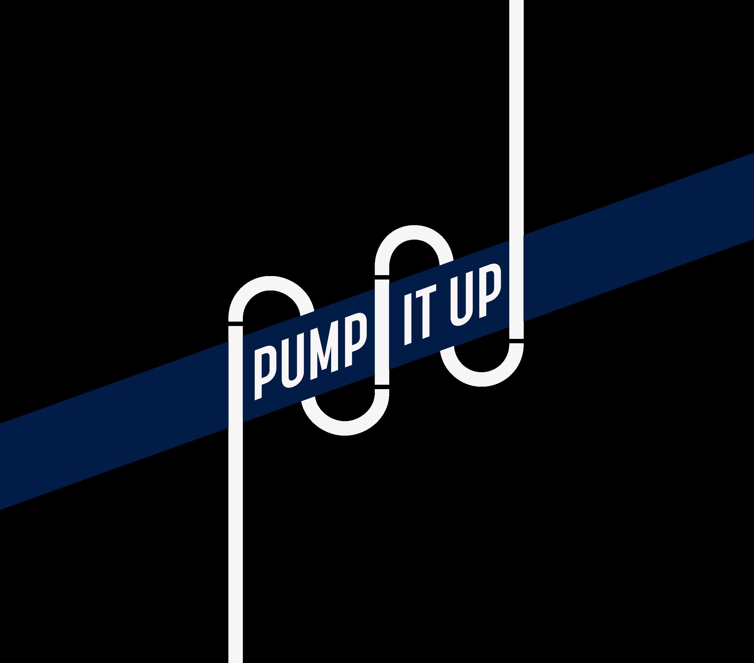 Pump it Up campaign logo.
