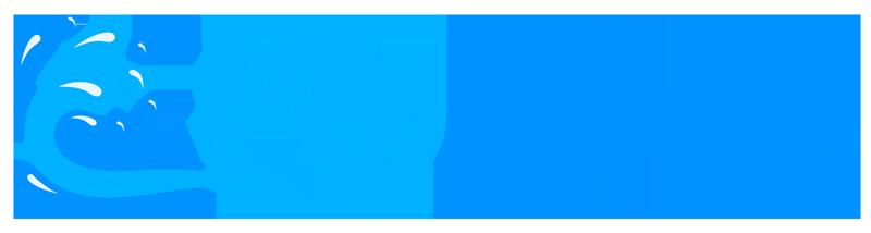 AJ Pools Logo