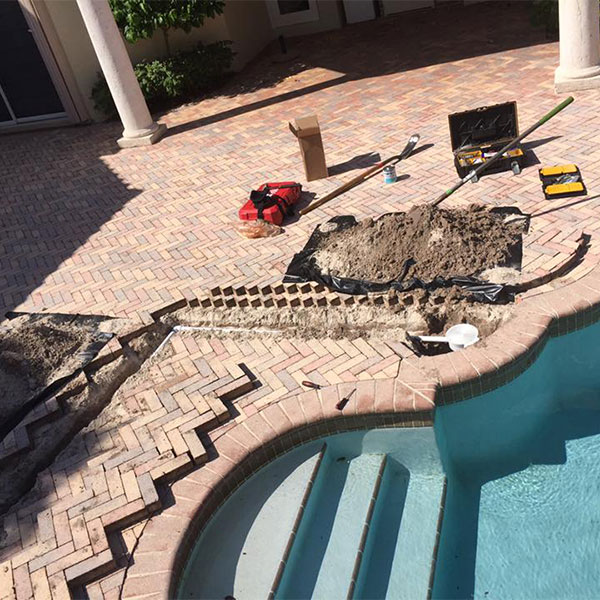 Pool repairs in Boca Raton