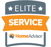 AJ Pools is awarded Elite Service by HomeAdvisor
