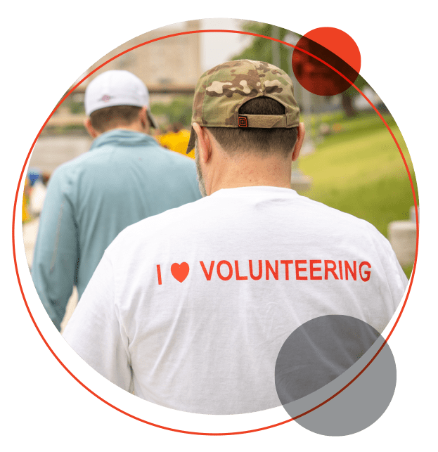 Fagron employee volunteering for charity